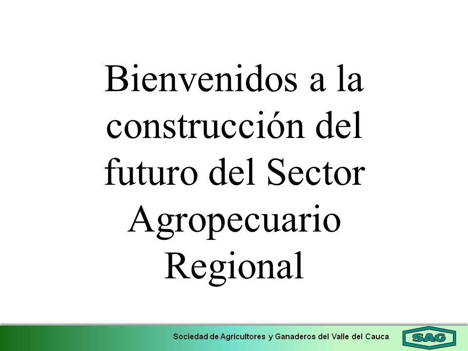 Bienvenidos a la construcción del futuro del Sector Agropecuario Regional