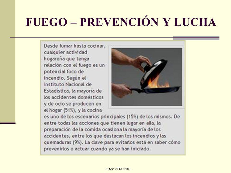 Autor: VERO1983 - FUEGO – PREVENCIÓN Y LUCHA