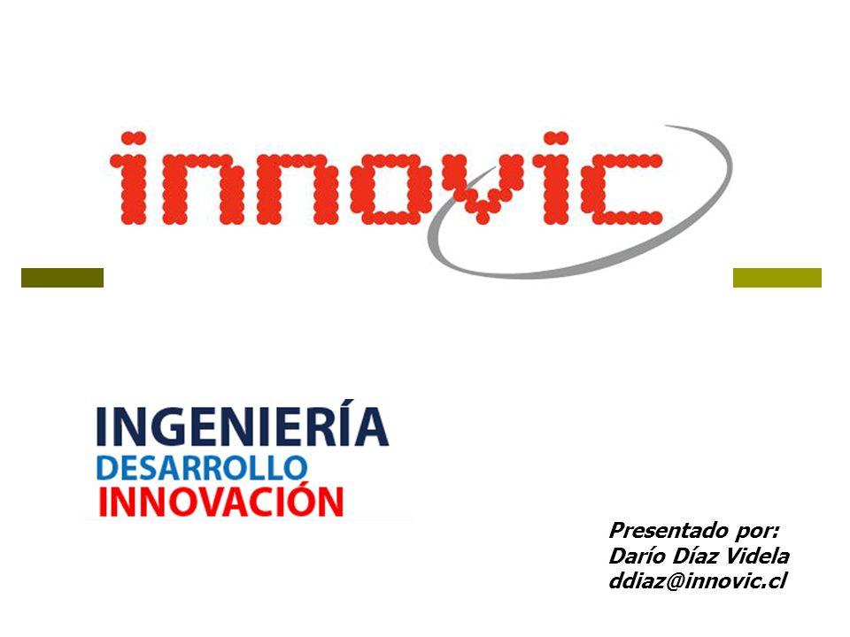 Presentado por: Darío Díaz Videla ddiaz@innovic.cl