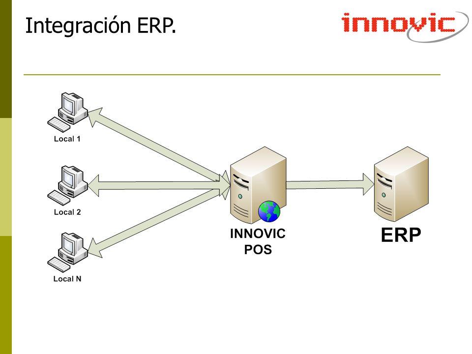 Integración ERP.