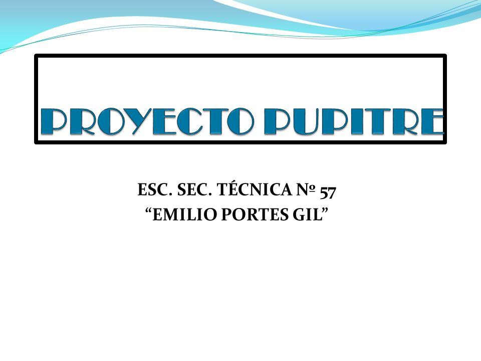 ESC. SEC. TÉCNICA Nº 57 EMILIO PORTES GIL