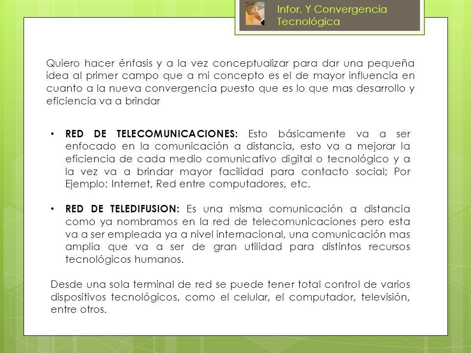 Infor.Y Convergencia Tecnológica Domótica Ctrl. de luces y persianas Ctrl.