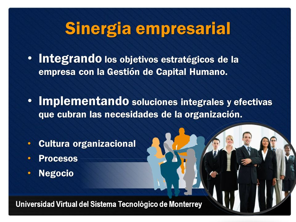 Integrando los objetivos estratégicos de la empresa con la Gestión de Capital Humano. Integrando los objetivos estratégicos de la empresa con la Gesti