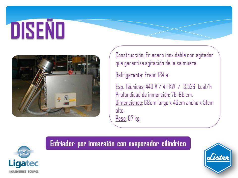 REDUCCIÓN DE COSTOS No hay consumo de hielo Se ahorran millones de pesos en consumo de hielo Optimiza la mano de Obra No necesita operarios