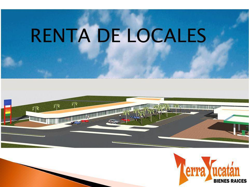 RENTA DE LOCALES