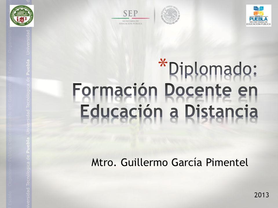 2013 Mtro. Guillermo García Pimentel