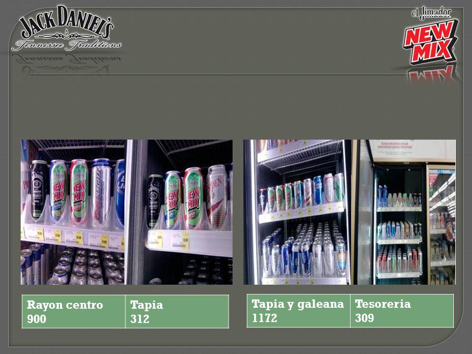 Tapia y galeana 1172 Tesoreria 309 Rayon centro 900 Tapia 312