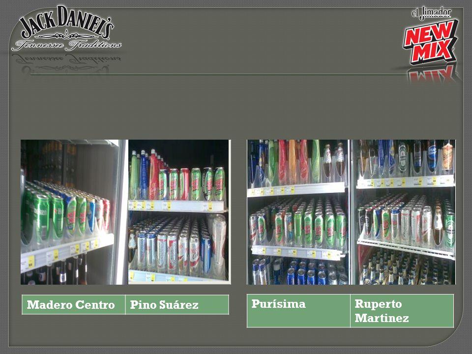 Zaragoza 070 Zuazua centro 871 Treviño 764 Washington 065