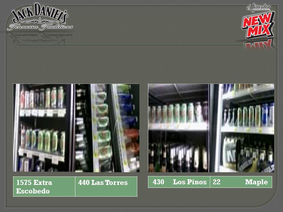 430 Los Pinos22 Maple 1575 Extra Escobedo 440 Las Torres