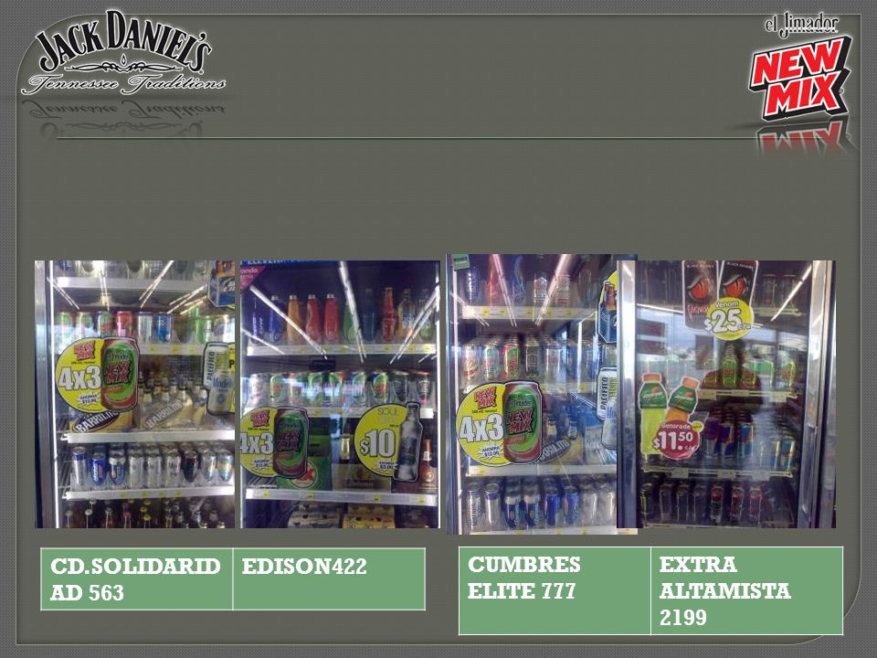 CUMBRES ELITE 777 EXTRA ALTAMISTA 2199 CD.SOLIDARID AD 563 EDISON422