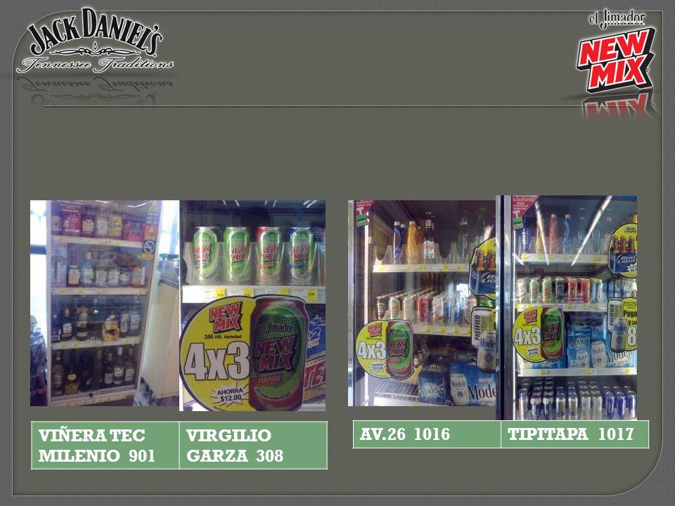 AV.26 1016TIPITAPA 1017 VIÑERA TEC MILENIO 901 VIRGILIO GARZA 308