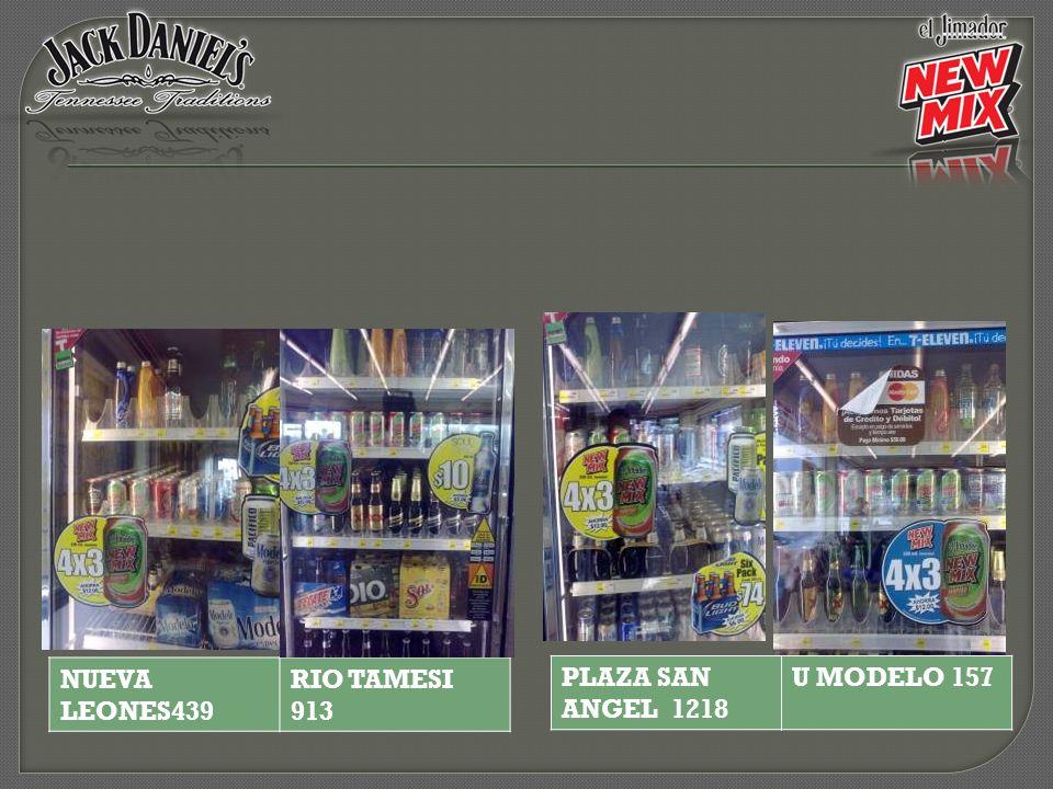 PLAZA SAN ANGEL 1218 U MODELO 157 NUEVA LEONES439 RIO TAMESI 913