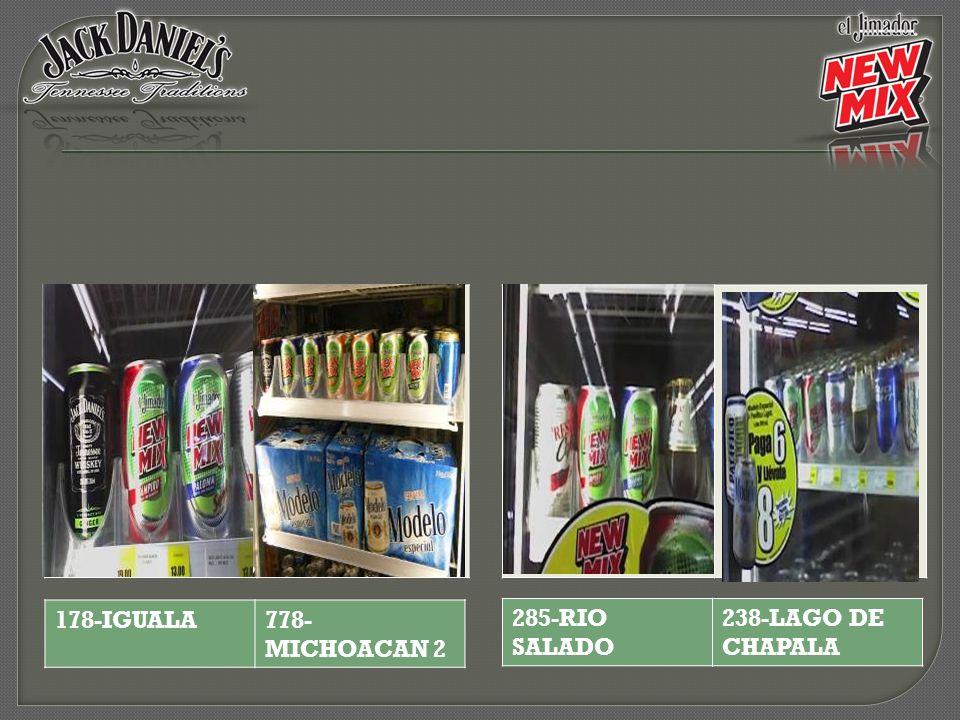 285-RIO SALADO 238-LAGO DE CHAPALA 178-IGUALA778- MICHOACAN 2