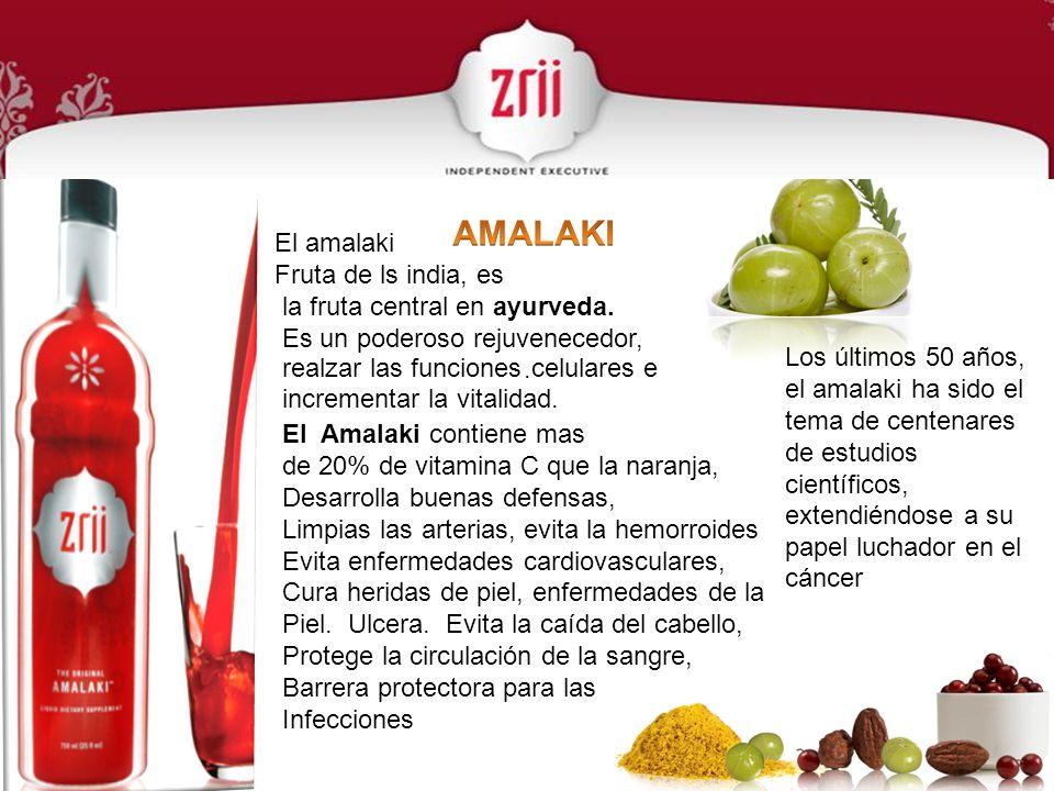 El amalaki Fruta de ls india, es la fruta central en ayurveda. Es un poderoso rejuvenecedor,. realzar las funciones celulares e incrementar la vitalid