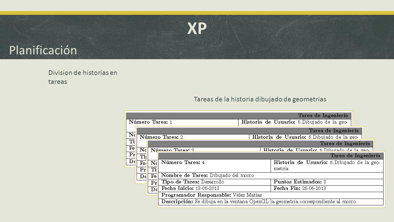 XP Planificación 1° Iteración GUI.Lectura de parámetros.