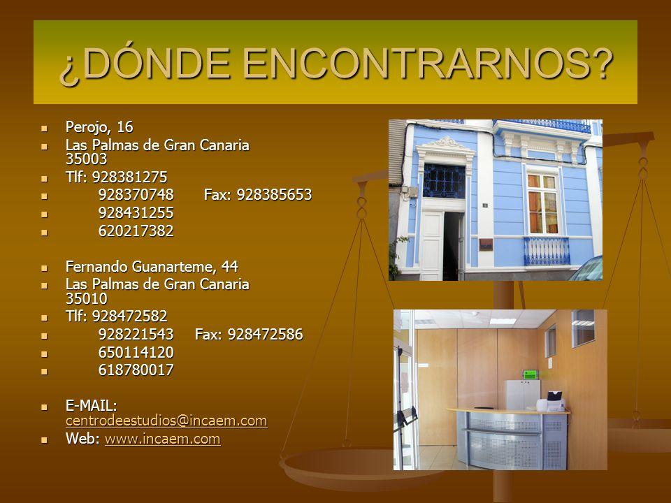 ORGANIGRAMA MAPI DIAZ RESPONSABLE FORMACION administracion@incaem.com c/ Perojo 16 ELI SOCORRO DIRECTORA direccion@incaem.com c/ Perojo 16 YAIZA MEDINA RESPONSABLE DOCENTES ayudanteformacion@incaem.com c/ Fernando Guanarteme, 44