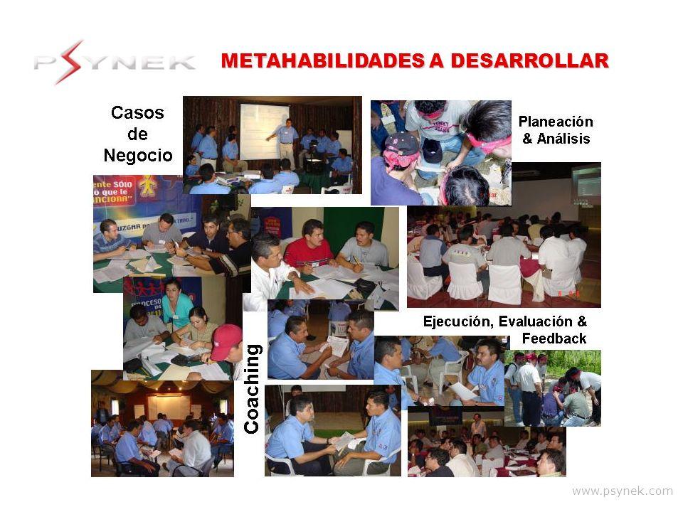 www.psynek.com METAHABILIDADES A DESARROLLAR