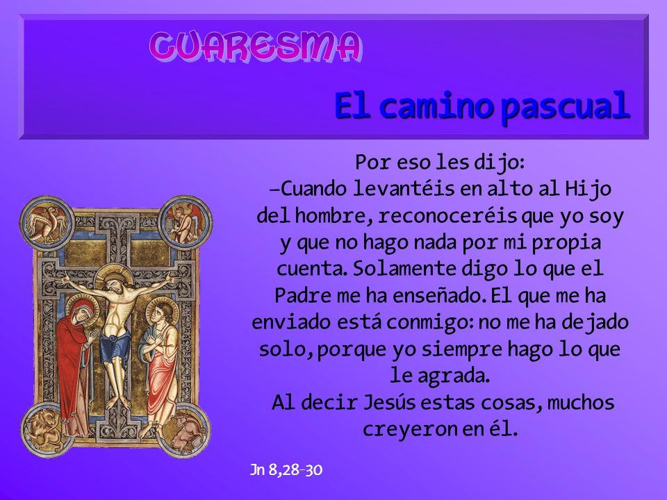 El camino bautismal Jesús les contestó: –Ni por su propio pecado ni por el de sus padres, sino para que en él se demuestre el poder de Dios.