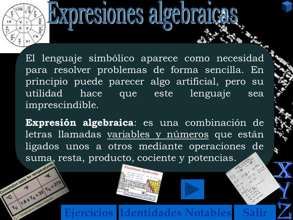 Sergiov El lenguaje simbólico aparece como necesidad para resolver problemas de forma sencilla.