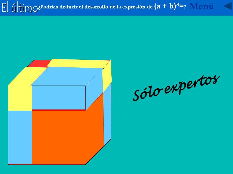 ¿A qué sería igual (a + b + c ) 2 Investiga con la ayuda de estás figuras