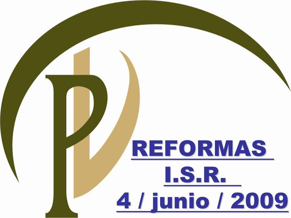 REFORMASI.S.R. 4 / junio / 2009
