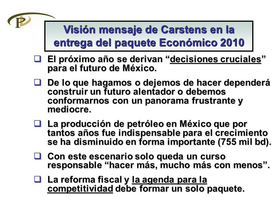 El próximo año se derivan decisiones cruciales para el futuro de México. El próximo año se derivan decisiones cruciales para el futuro de México. De l