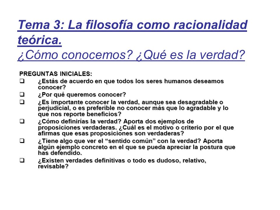 3.3 Conocimiento inteligible En este punto vamos a tratar 2 temas: 1)¿Qué es la inteligencia.