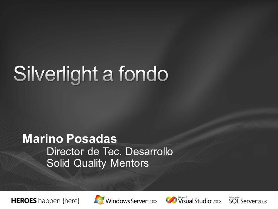 Marino Posadas Director de Tec. Desarrollo Solid Quality Mentors