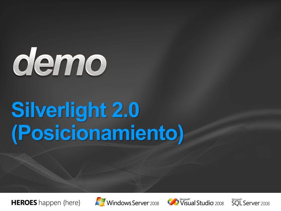 Silverlight 2.0 (Posicionamiento)