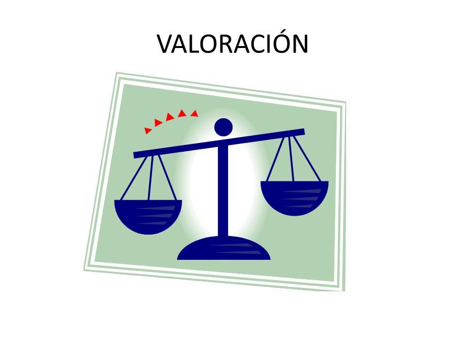 VALORACIÓN
