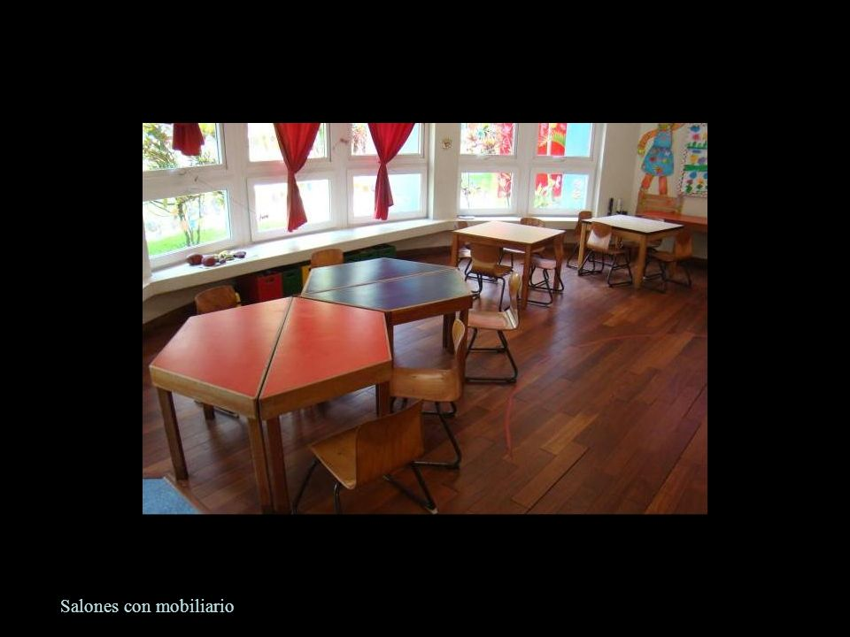 Salones con mobiliario