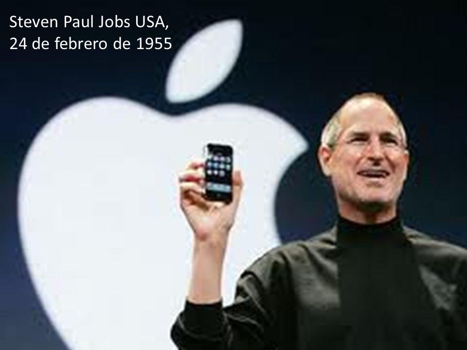 26 Steven Paul Jobs USA, 24 de febrero de 1955