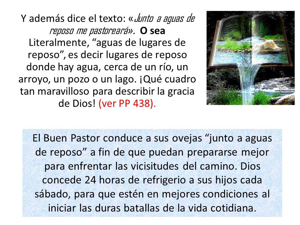 IV.JESÚS COMO PASTOR BRINDA SEGURIDAD. a). En los valles de sombra El esta con nosotros.