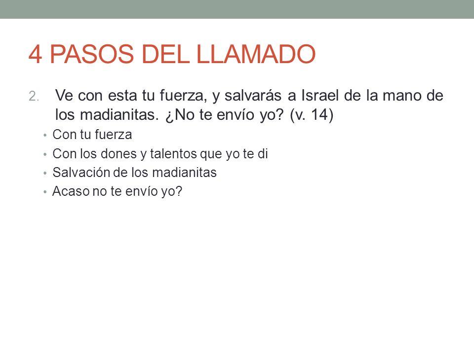 LA RESPUESTA HUMANA 6.15 Entonces le respondió: Ah, señor mío, ¿con qué salvaré yo a Israel.