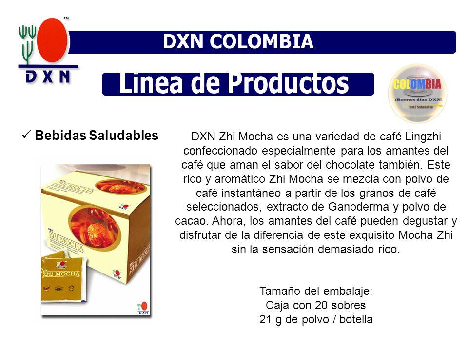 Bebidas Saludables DXN Zhi Mocha es una variedad de café Lingzhi confeccionado especialmente para los amantes del café que aman el sabor del chocolate