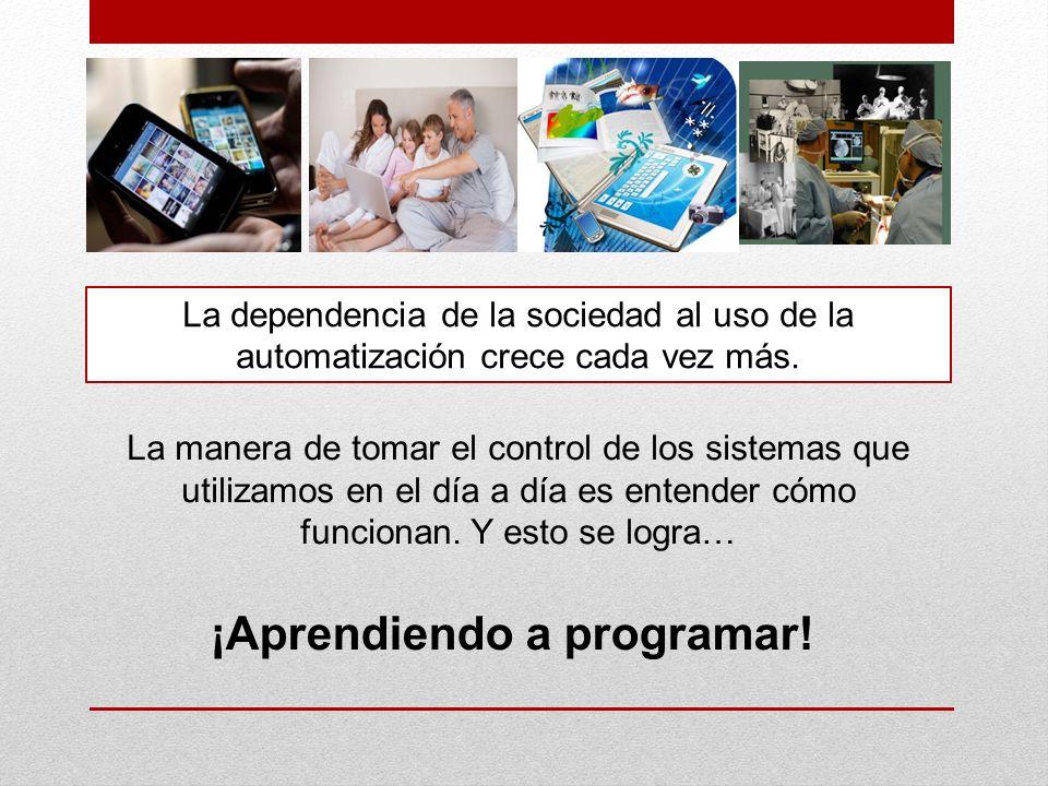 La dependencia de la sociedad al uso de la automatización crece cada vez más.