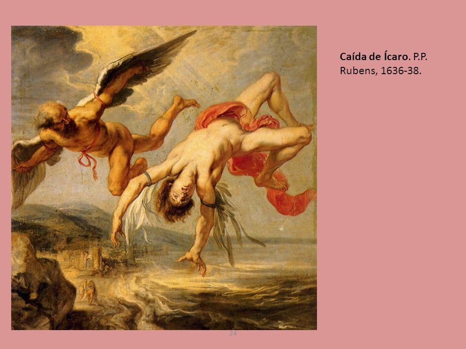 24 Caída de Ícaro. P.P. Rubens, 1636-38.
