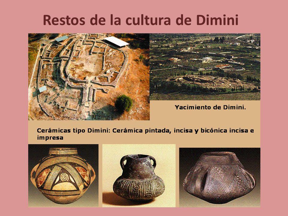 Restos de la cultura de Dimini