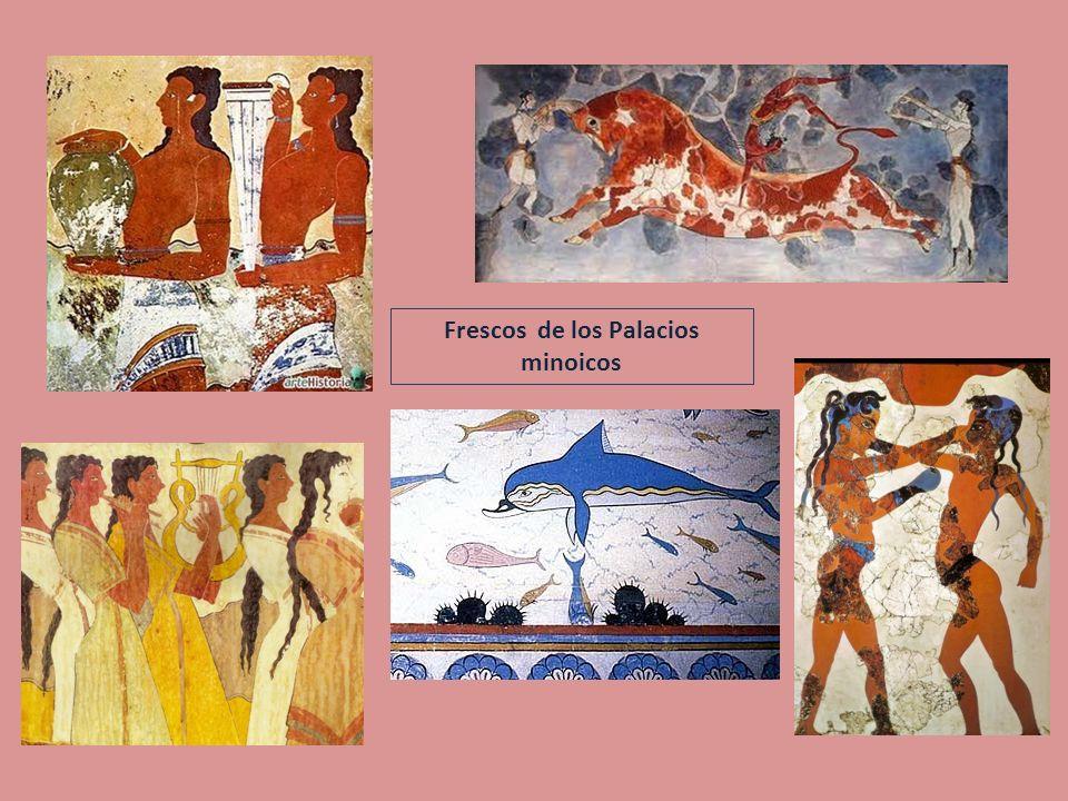 El palacio de Cnosos (Creta). Restos y descubrimiento