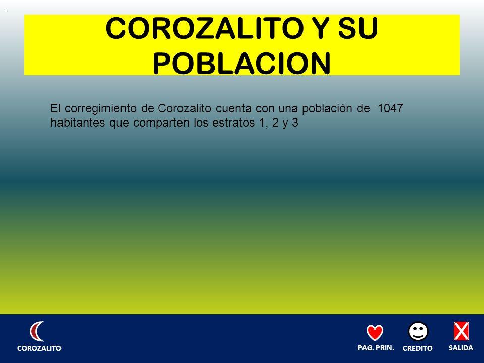 COROZALITO Y SU POBLACION.
