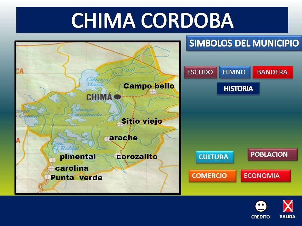 Campo bello Sitio viejo arache corozalitopimental carolina Punta verde ESCUDO HIMNO BANDERA CULTURA POBLACION COMERCIO ECONOMIA SALIDA CREDITO