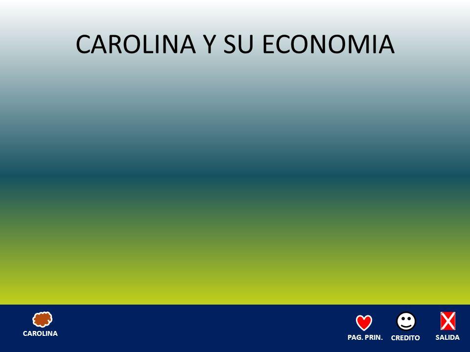 CAROLINA Y SU ECONOMIA SALIDA CREDITO PAG. PRIN. CAROLINA