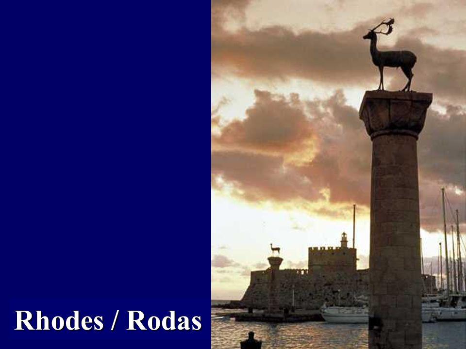 El Dodecaneso (topónimo griego, Δωδεκάνησα, Dodekànisa, que significa Doce Islas). Lo forman un total de 163 islas, de las cuales 26 están habitadas.