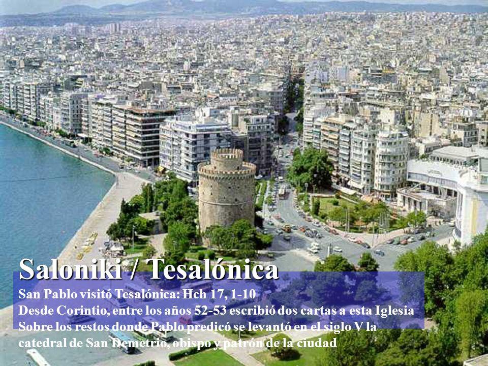 Anfípolis Anfípolis Pasaron por Anfípolis y Apolonia y llegaron a Tesalónica Hch 17, 1