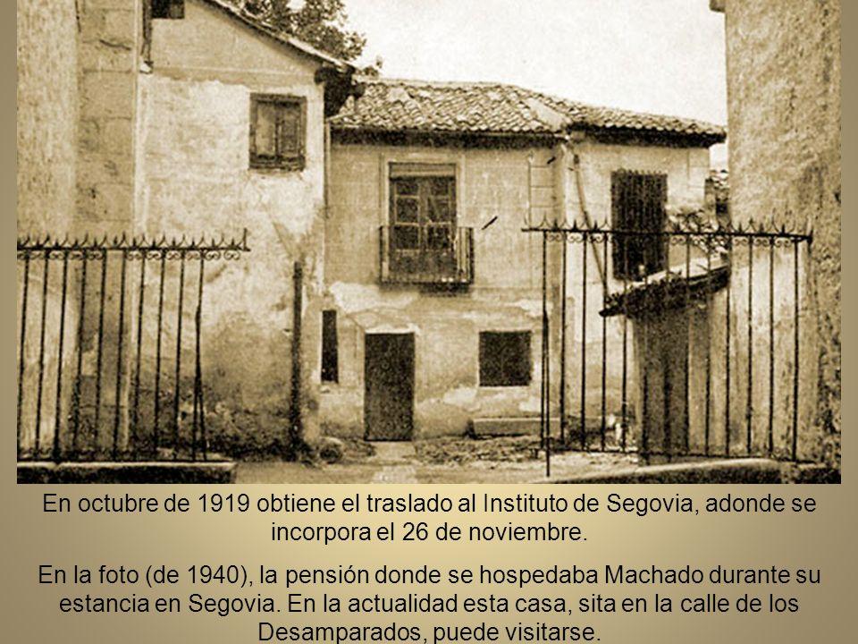 Desde Baeza Machado se desplaza con frecuencia a Madrid.