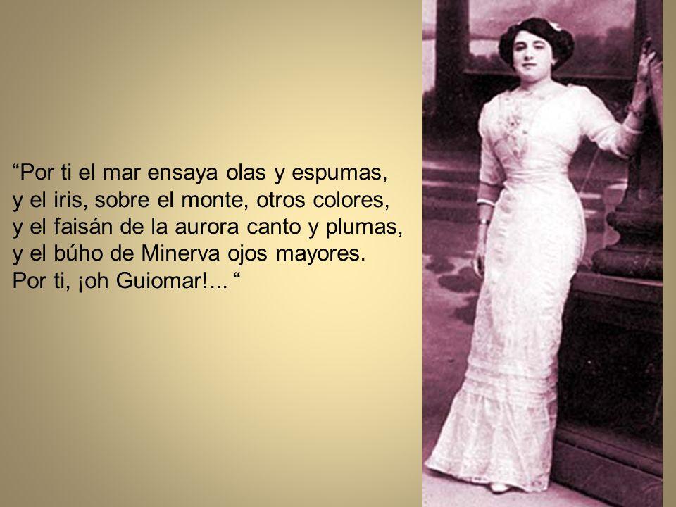 Pilar Valderrama (Guiomar); poetisa y escritora.