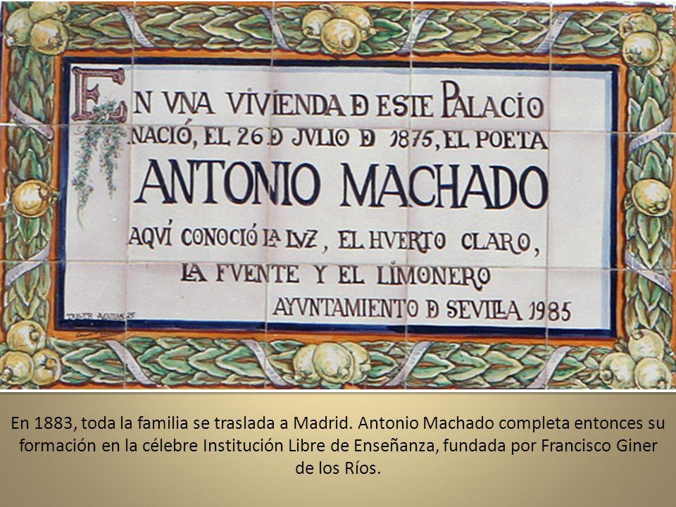 Habitación que ocupaba Machado en la pensión de la calle de los Desamparados en Segovia