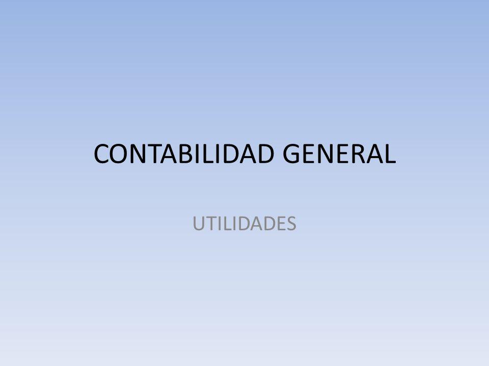 CONTABILIDAD GENERAL UTILIDADES