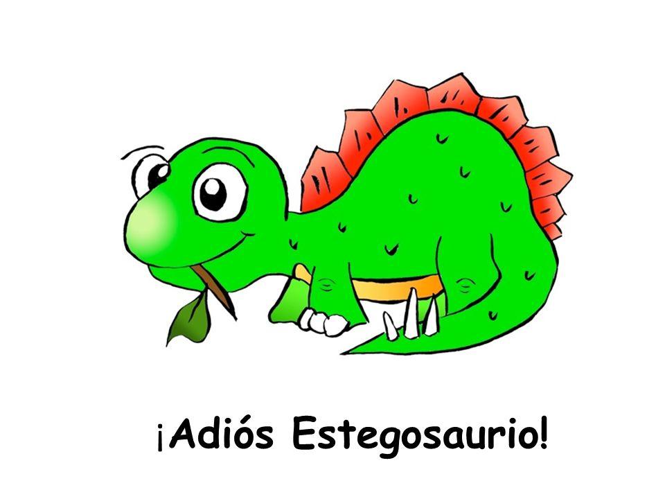 ¡ Adiós Estegosaurio!