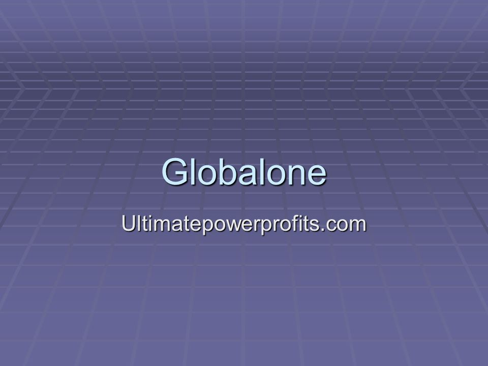 Globalone Ultimatepowerprofits.com